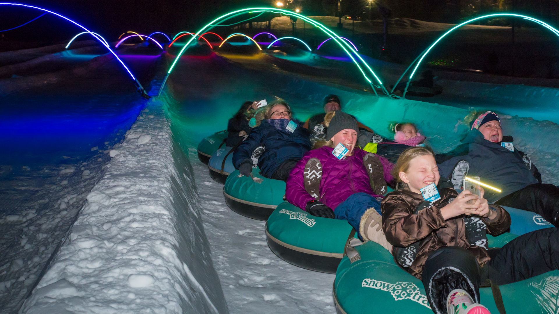 Win This </br>Glow Tubing </br>Experience
