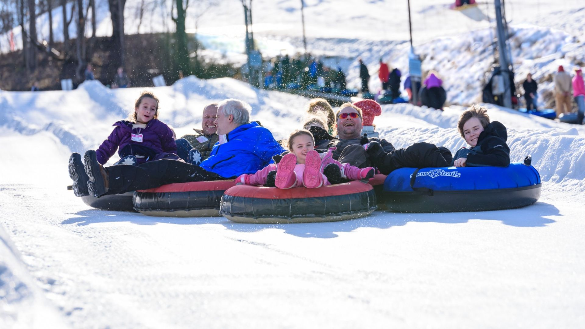 What A Fun Snow Tubing</br>Season - Thank You!