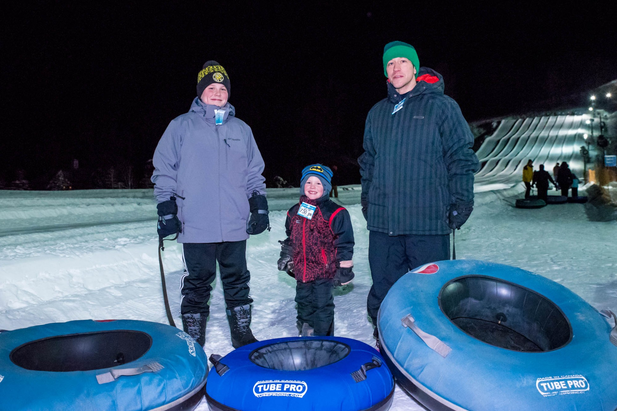 No Experience Necessary to have fun Snow Tubing at Snow Trails